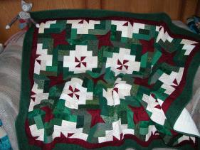 Large Quilt - a Christmas present